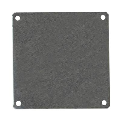 Aluminum Back Panel for 6x6 Enclosures | PLA66