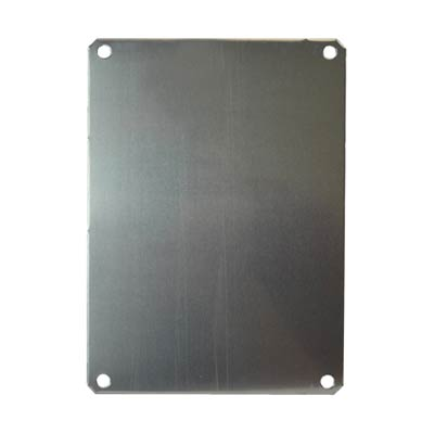 Aluminum Back Panel for 8x6 Enclosures | PLA86