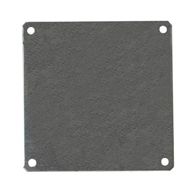 Aluminum Back Panel for 8x8 Enclosures | PLA88