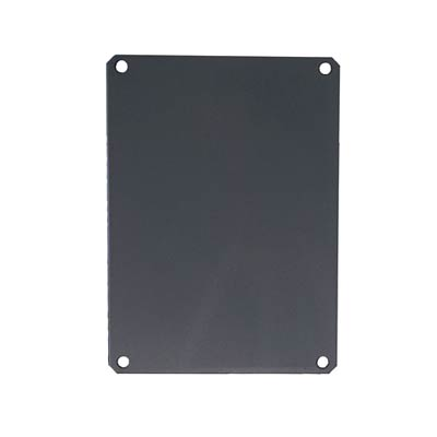 PVC Back Panel for 10x8 Enclosures | PLPVC108