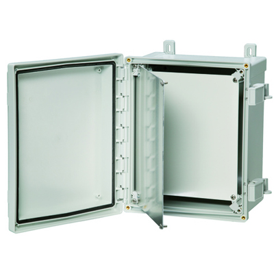 Fibox ASPK108 Aluminum Swing Panel Kit for 10 x 8 ARCA Enclosure