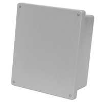 Allied AM664 NEMA 4X & 6P Fiberglass Enclosure