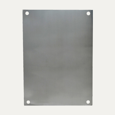 Allied Moulded PA120 Aluminum Back Panel