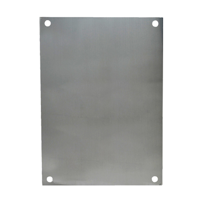 Aluminum Back Panel for 10x8 Enclosures | PA108