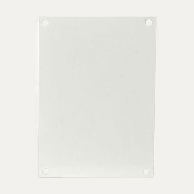 Allied Moulded P108 Carbon Steel Back Panel