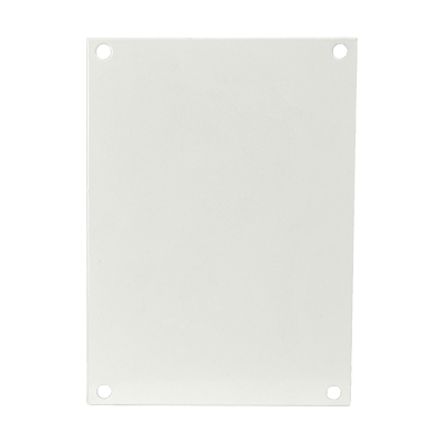 Carbon Steel Back Panel for 6x6 Enclosures | P66
