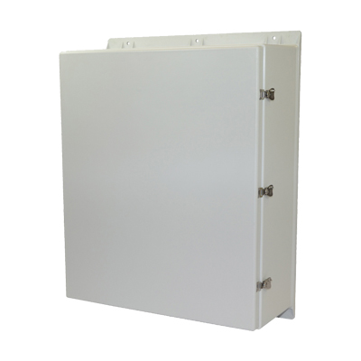 Allied Moulded AMEC363012T NEMA 4X Fiberglass Enclosure