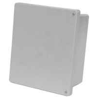 Allied Moulded AM1084H NEMA 4X Fiberglass Enclosure