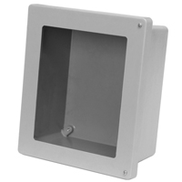 Allied Moulded AM664HW NEMA 4X Fiberglass Enclosure