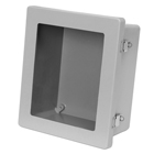 Snap Latch Hinged Cover with Viewing Window