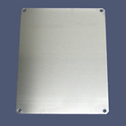 Allied Moulded Aluminum Back Panels for Polycarbonate Enclosures