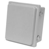 Allied Moulded AM1868RL NEMA 4X Fiberglass Enclosure