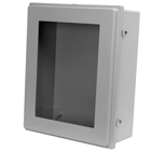 Raised Cover Fiberglass Enclosures with Window