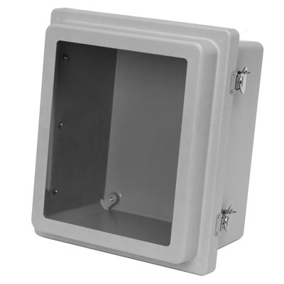 Allied Moulded AM1084RTW NEMA 4X Fiberglass Enclosure