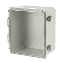 Allied Moulded AMU1206CCT NEMA 4X Fiberglass Enclosure