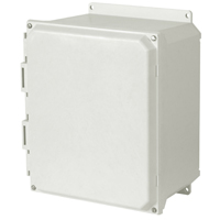 Allied AMU1426F NEMA 4X & 6P Fiberglass Enclosure
