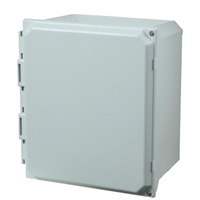 Allied Moulded AMU664H NEMA 4X Fiberglass Enclosure