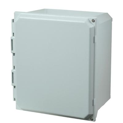 Buy 12x10x6 Fiberglass Enclosure | AMU1206H on Outdoor Water Softener Enclosure  id=15919