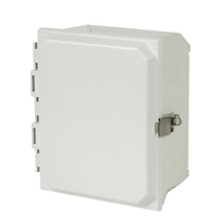 Allied Moulded AMU664L NEMA 4X Fiberglass Enclosure