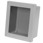 Flat Cover Fiberglass Enclosures with Window
