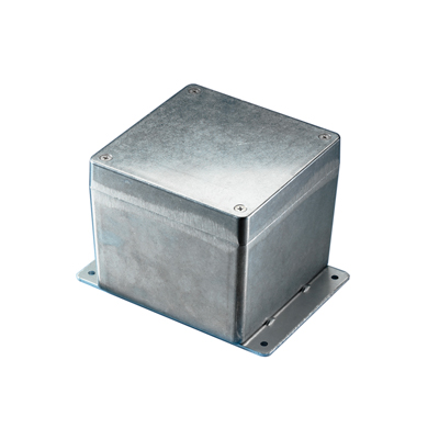 BUD Industries AN-2801 NEMA 4X Die-Cast Aluminum Enclosure