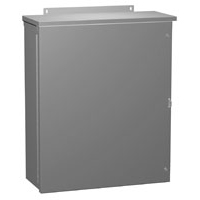 Hammond C3R483612HCR NEMA 3R Metal Enclosure w/ Hinged Door