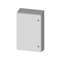 Saginaw SCE-16EL1208SSST NEMA 4X Stainless Steel Enclosure w/ Sloped Top