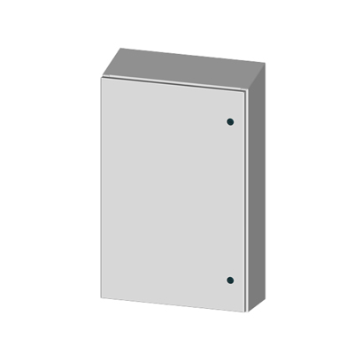 Saginaw SCE-48EL3616SSST NEMA 4X Stainless Steel Enclosure w/ Sloped Top