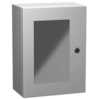 Hammond EN4SD242412WLG NEMA 4 Metal Enclosure w/ Window