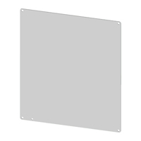 SCE-12DLP12 Carbon Steel Sub Panel for 12 x 12 Enclosures