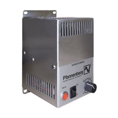 Pfannenberg 17012515407 125W PTC Enclosure Fan Heater