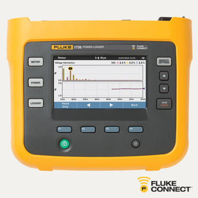 Fluke 1736/EUS Basic Three-Phase Power Logger | 4534519 Mini-Thumbnail