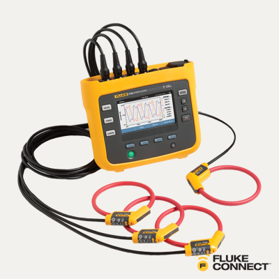 Fluke 1738/EUS Advanced Three-Phase Power Logger