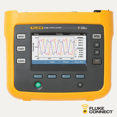 Fluke 1738/B Advanced Three-Phase Power Logger | 4588378 Mini-Thumbnail