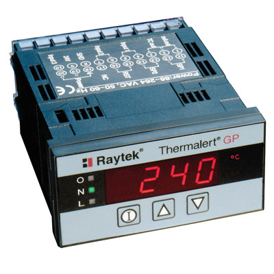 RAYGPCM Panel-Mount Meter with Built-in 3A Mechanical Alarm Relay Outputs