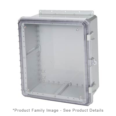 Integra G201608C NEMA 4X and 6P Polycarbonate Enclosure