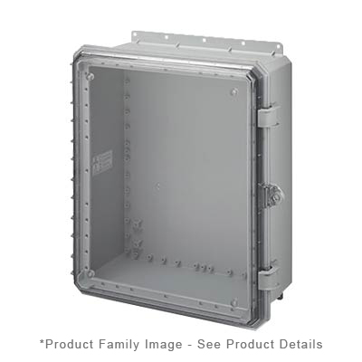Integra G201608CE NEMA 4X and 6P Polycarbonate Enclosure