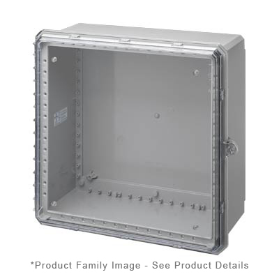 Integra G242410C NEMA 4X and 6P Polycarbonate Enclosure