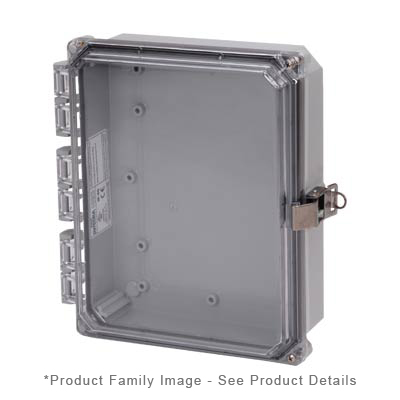Integra H10082HCFLL NEMA 4X Polycarbonate Enclosure