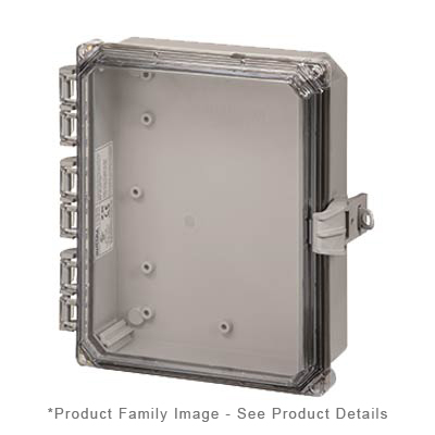 Integra H10082HCFNL NEMA 4X Polycarbonate Enclosure