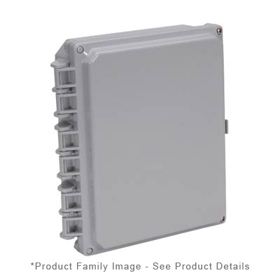 Integra H10082HF NEMA 4X Polycarbonate Enclosure