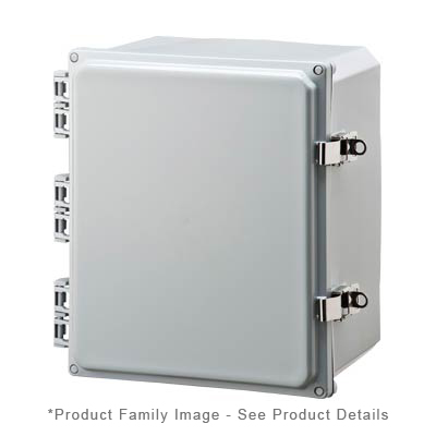 Integra H10082HFLL NEMA 4X Polycarbonate Enclosure