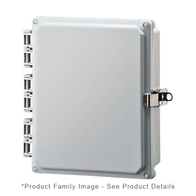 Integra H10082HLL NEMA 4X Polycarbonate Enclosure