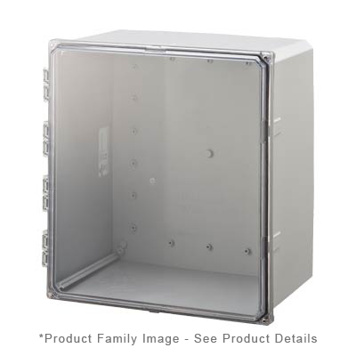 Integra H181610HCF-6P NEMA 4X and 6P Polycarbonate Enclosure