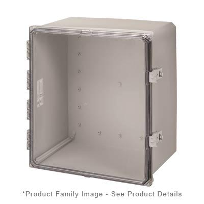 Integra H181610HCFNL NEMA 4X Polycarbonate Enclosure