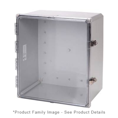 Integra H181610HCLL NEMA 4X Polycarbonate Enclosure