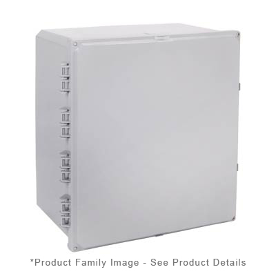 Integra H181610HF-6P NEMA 4X and 6P Polycarbonate Enclosure