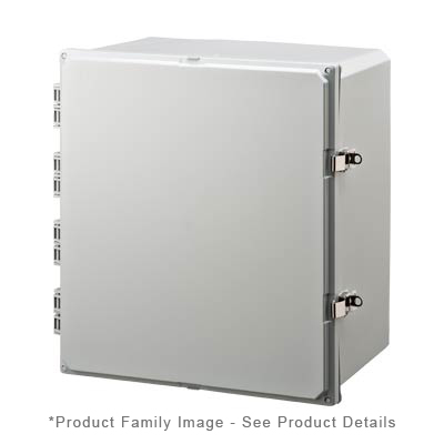 Integra H181610HFLL NEMA 4X Polycarbonate Enclosure