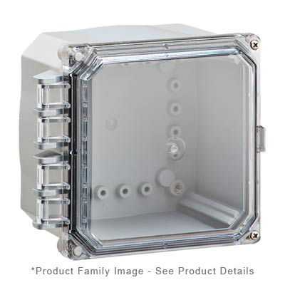 Integra H6064HC-6P NEMA 4X and 6P Polycarbonate Enclosure