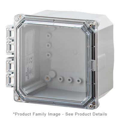 Integra H6064HCF-6P NEMA 4X and 6P Polycarbonate Enclosure